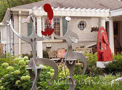 Mark Kramer, sculpture, garden design