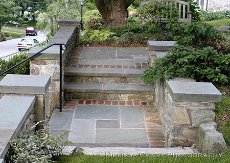 Stone Steps, Hill Design, Landscape Design, Hilly Sites