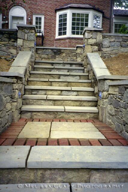 hardscape, steps