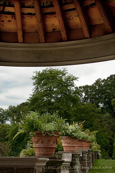 Morris Arboretum, Rose Garden, Gazebo