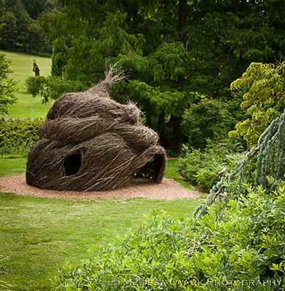 Morris Arboretum, Patrick Dougherty, Summer Palace