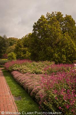 Longwood Gardens, Flower Garden Walk