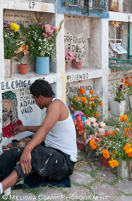 Day of the Dead, San Miguel de Allende cemetery