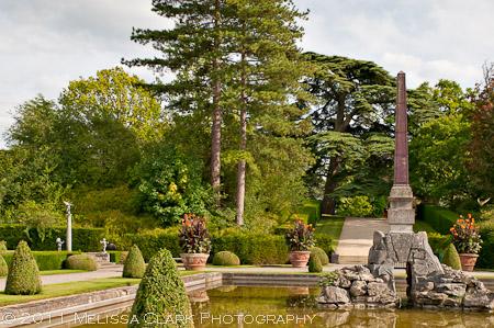 Blenheim Palace, Water terrace gardens, Achille Duchene
