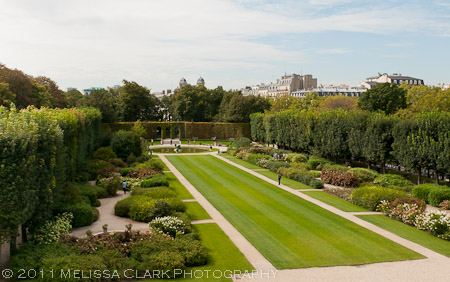 Hotel Biron gardens, Rodin Museum