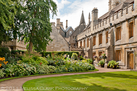 Magdalen College gardens, Oxford University