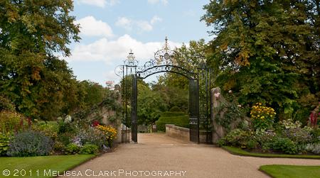 Magdalen College gardens