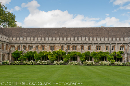 Magdalen College Cloisters, Magdalen College gardens