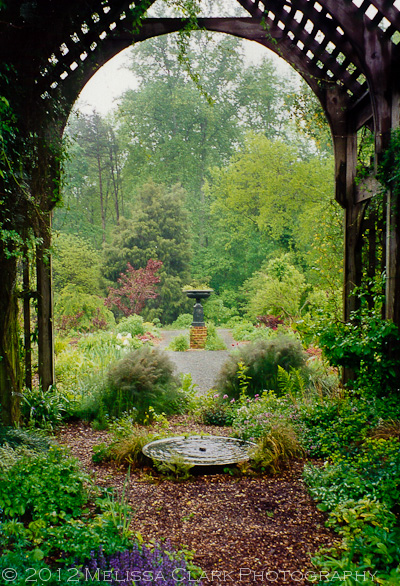 Montrose Garden, Nancy Goodwin, Lathe House