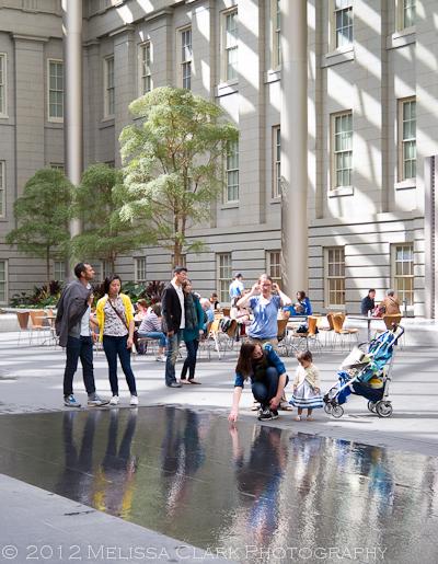 Kogod Courtyard, Smithsonian Museum of American Art, Kathryn Gustafson