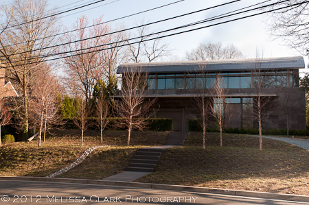 modern landscape, minimalist architecture, modern architecture