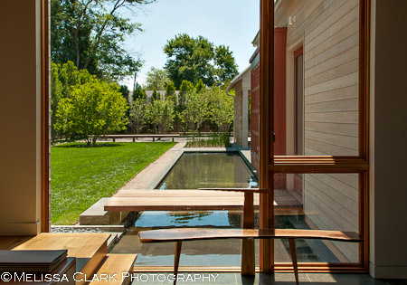 Richard Williams Architects, Gregg Bleam Landscape Architect, Horizon Builders, water feature, modern architecture, modern landscape architecture