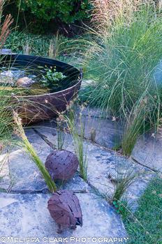 Association of Professional Landscape Designers, Gail Giffen garden, sculpture in the garden