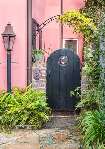 Another peek into a courtyard garden.