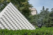 National Sculpture Garden, Barry Flanagan, Sol Lewitt
