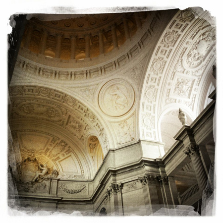 San Francisco City Hall, Hipstamatic, iPhone