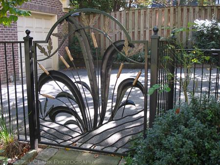 Merveilleux Garden Gate, Corinna Posner, Ornamental Ironwork