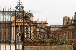 ornamental ironwork, Blenheim Palace