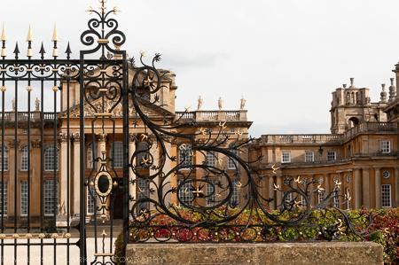 ornamental ironwork, Blenheim Palace