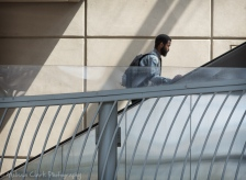 NoMa Metro escalators