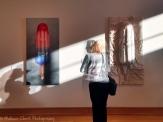 Gallery opening scene