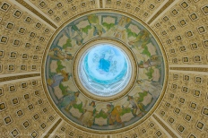 The dome of the Main Reading Room