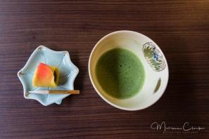 Tea house offerings.